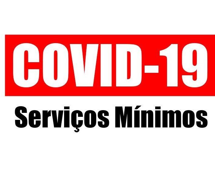 COVID-19 - SERVICOS MINIMOS