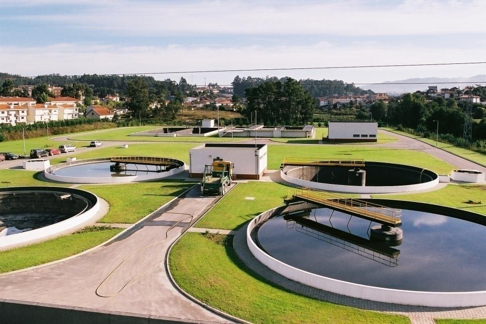 Drenagem e tratamento de aguas residuais