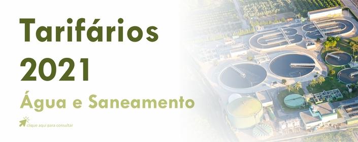 TARIFÁRIO DE SANEAMENTO 2021